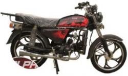 Мопед ALPHA Black Limited Edition GEPARD красный