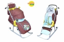 Санки-коляска детские Ника Детям 5